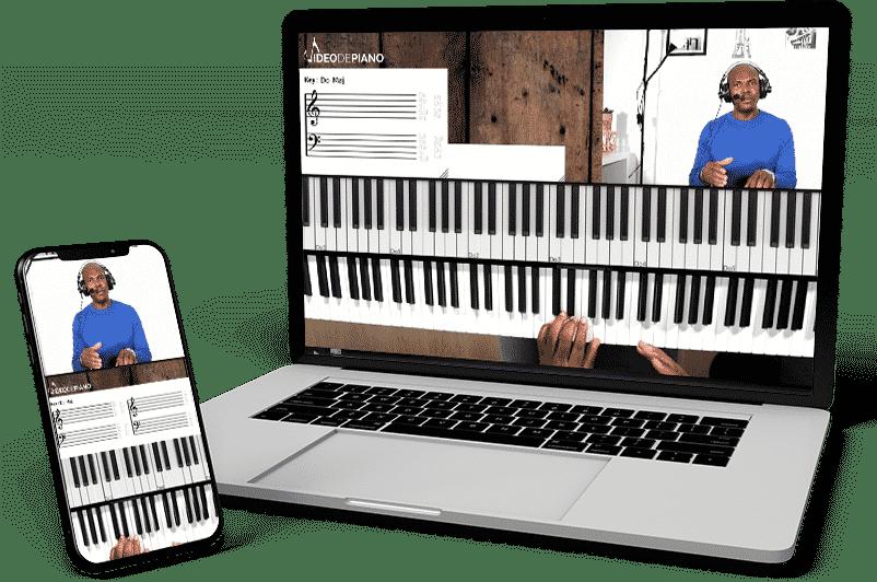 Apprendre le piano gospel avec vidéo de piano